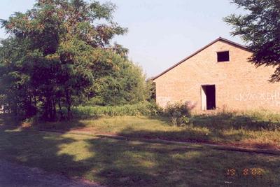 Современный вид места, где раньше распологалась церковь в с.Кулажинцы