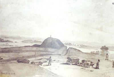 Городище над р.Оржицей