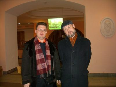 Дмитрий Аркадьевич Панов и Петриченко Михаил Борисович