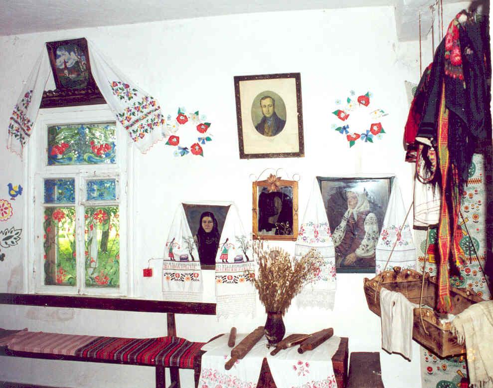 Музей Е.П.Гребенки в д.Марьяновка