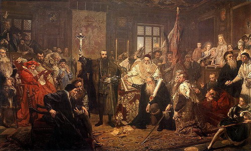 Люблинская уния 1569 года - автор Ян Матейко